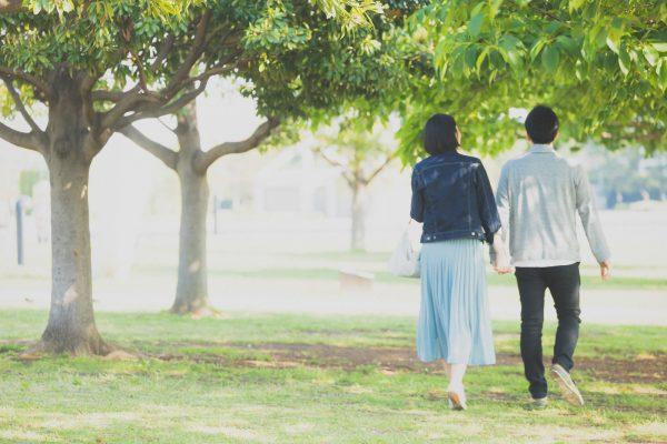 公園でデート