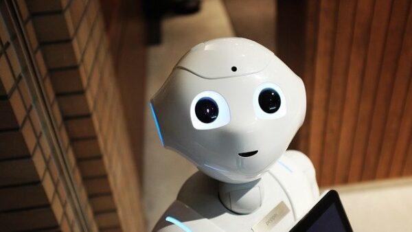 昼間はロボット