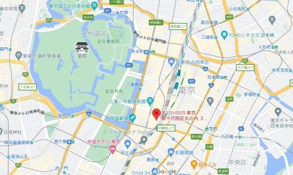 東京国際フォーラム地図